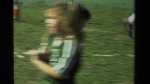 CALIFORNIA 1981: kids playing soccer