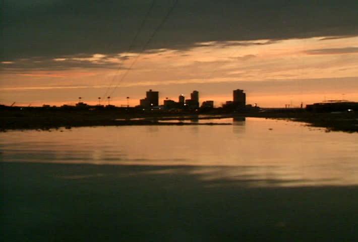 Fort Worth Skyline - evening