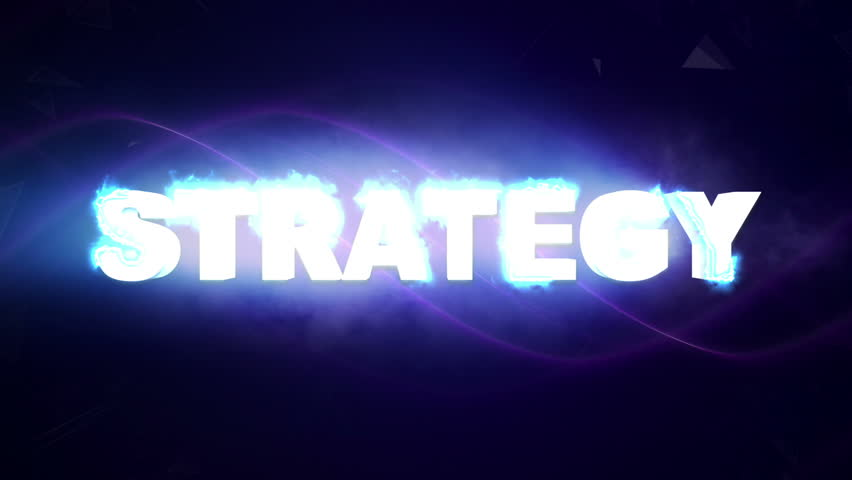 STRATEGY  Text Animation, Rendering, Background, Final Explosion with Green Screen, 4k  | Shutterstock HD Video #22818178