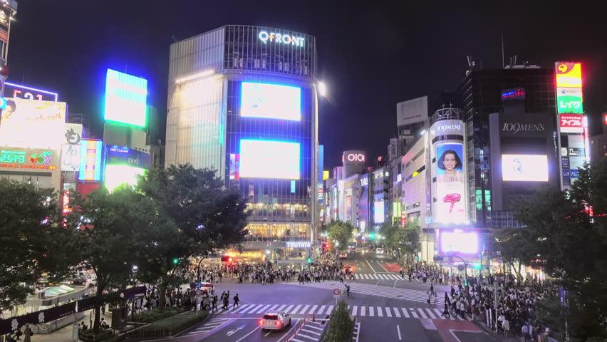 Tokyo japan march 14 2014 traffic in kabuki cho