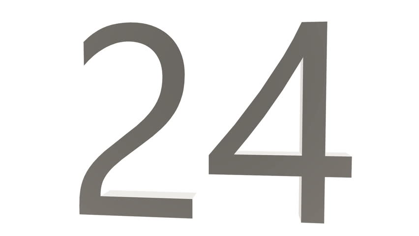 Black and white random numbers sequence against white background. Perfect loop. | Shutterstock HD Video #22856548