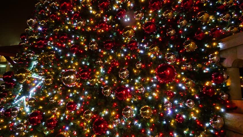 blurry christmas lights merry - photo #2