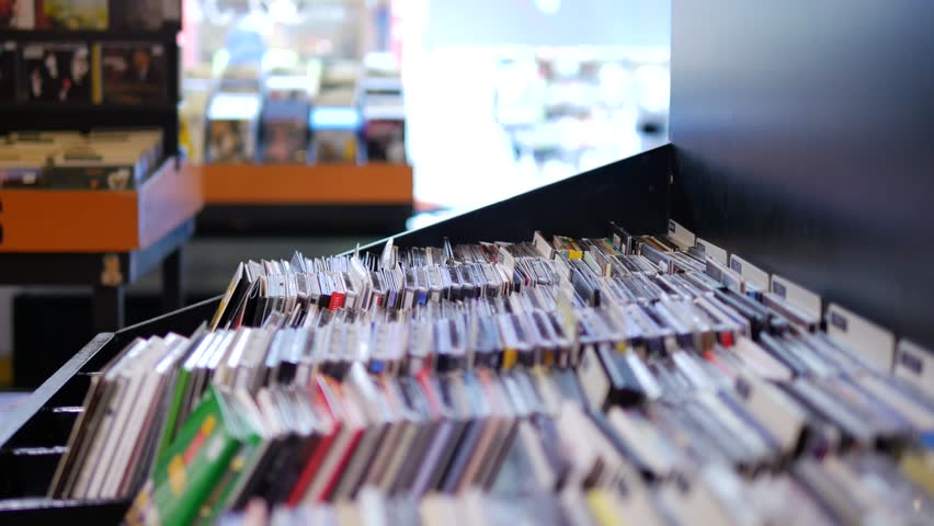 Closeup of Browsing Records in Stock Footage Video (100% Royalty-free)  22890268 | Shutterstock