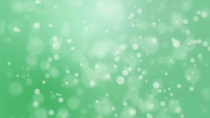 abstract lights bokeh green background. elegant animation soft, Powerpoint templates