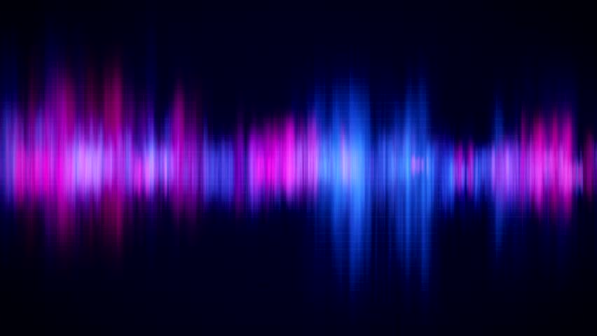 Spectrum Analyser Hd Stock Footage A Visual Display Of