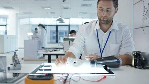 4K Electronics engineering team building & testing robotics & electronics Dec 2016-UK