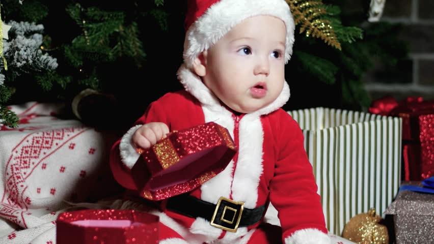 d699e3bd16bc Baby in Santa Suit