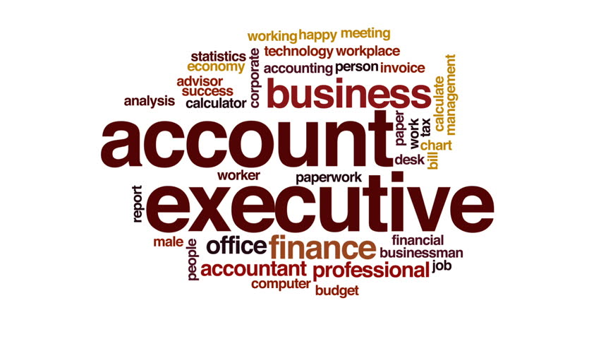 Header of account executive