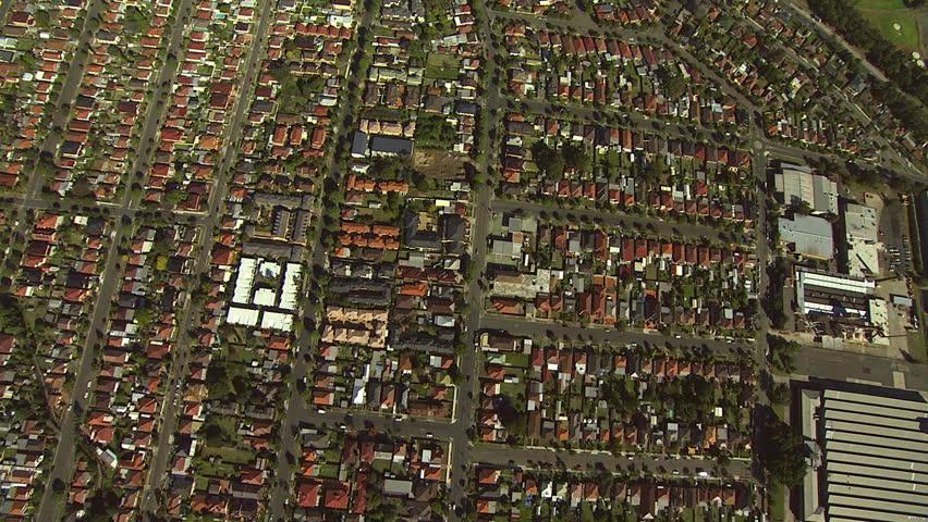Sydney Suburbs Aerial