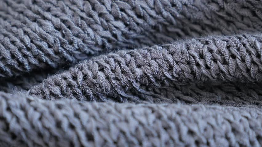 014c7bdca Grey Knitting Made Sweater Texture Stock Footage Video (100% Royalty ...