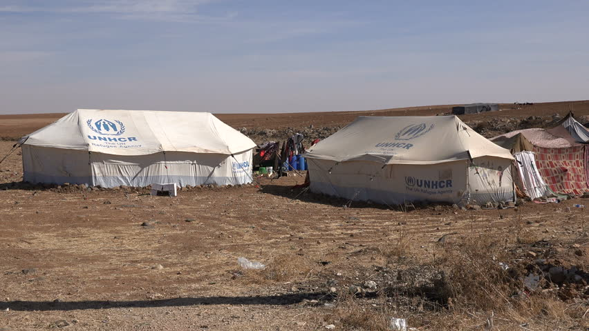 KINGu0027S HIGHWAY JORDAN - NOVEMBER 2016 UNHCR tents on the high plateaus of central & KINGu0027S HIGHWAY JORDAN - NOVEMBER 2016: UNHCR Tents On The High ...