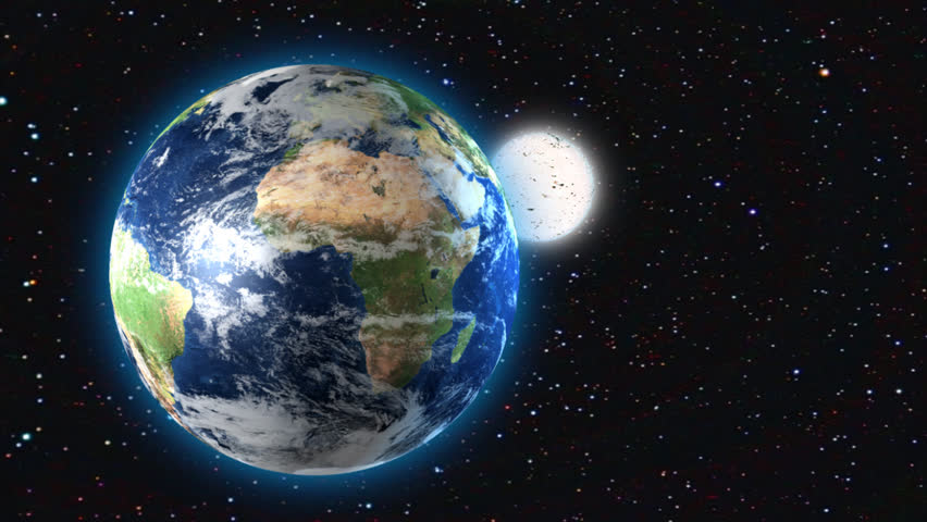 3d Animation Of Earth And Stock Footage Video 100
