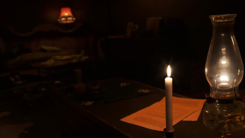 Image result for table in a dark room