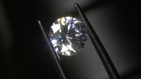 Round Cut Diamond Inspected for Chips and Damage 4k
