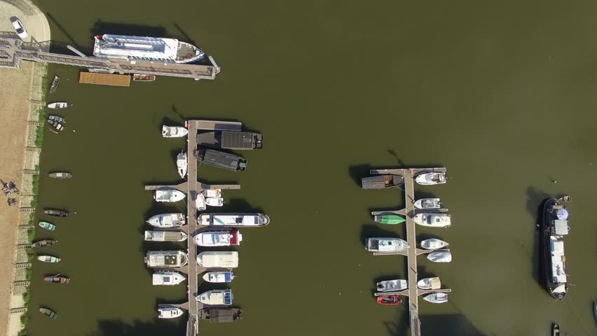 ANGERS SEEN BY DRONE IN SUMMER Aerial view by drone of Angers and its castle, France Pays de la Loire, Angers, Maine-et-Loire, France