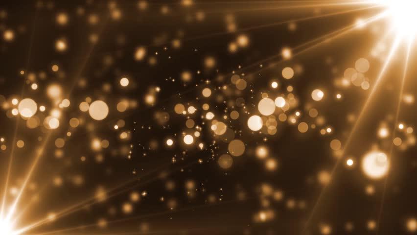 Animation Of Flashing Light Bulbs On Led Wall Or