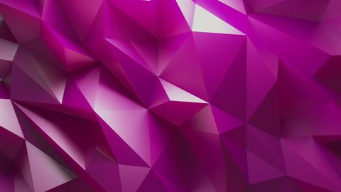 Abstract Purple Background Random Motion, 3d Loopable Animation 4k