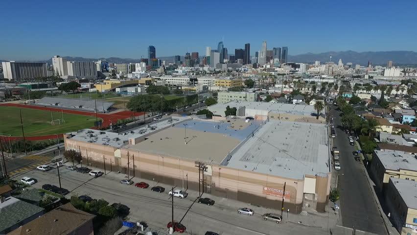 Los Angeles California Skyline Aerial.mov  | Shutterstock HD Video #23536288