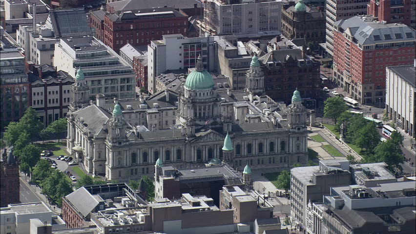 Belfast In Good, Patchy Light, City Hall