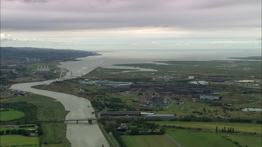 Header of estuary