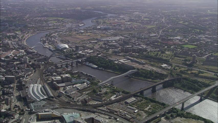 Newcastle City Bridges And Centre
