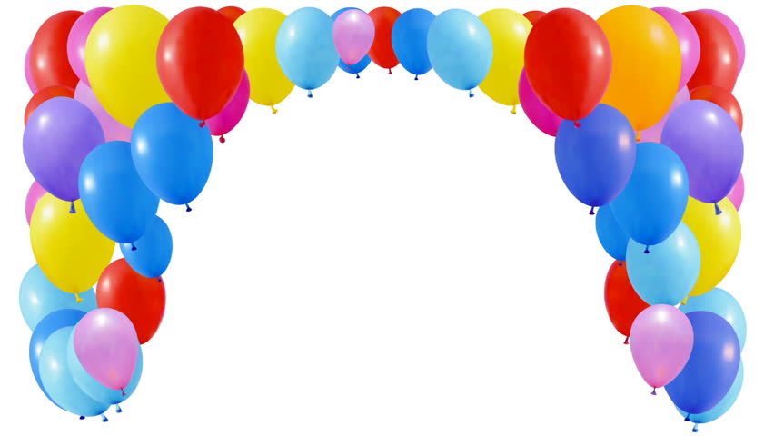 Balloons Background Loop Able 3d Animation Alpha