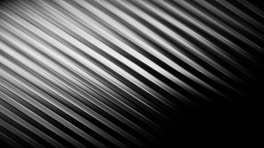 Silver Stripes Plate Silver Metal Wave Light Particle