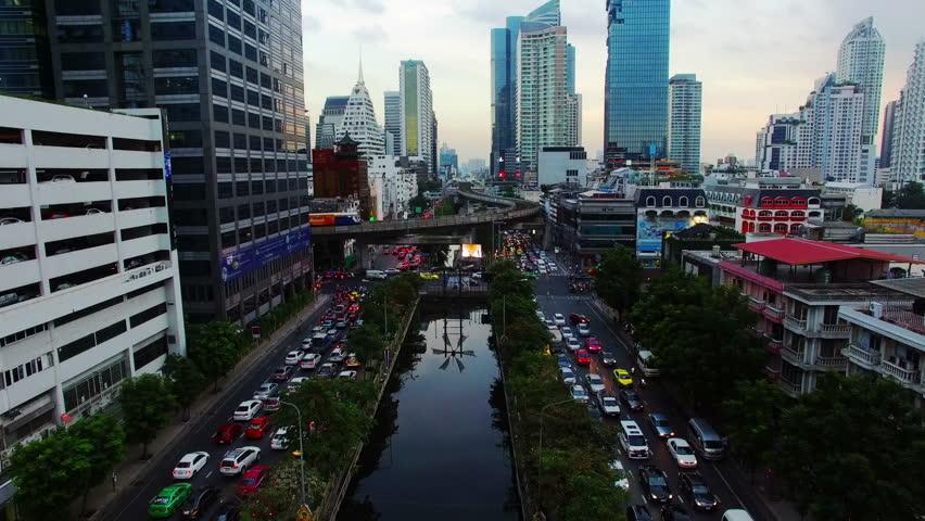 Bangkok by drone. | Shutterstock HD Video #23841238