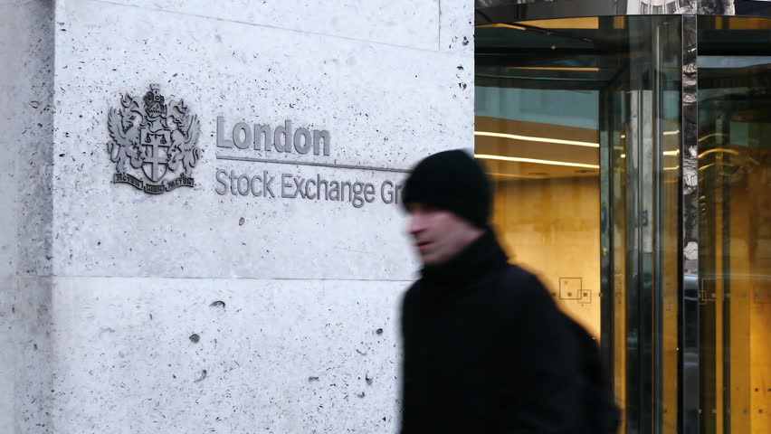 LONDON - JAN 20: London Stock Exchange Group open for business on January 20, 2017. Founded in 1801, the London Stock Exchange is a British financial company that is Europe's leading stock exchange.