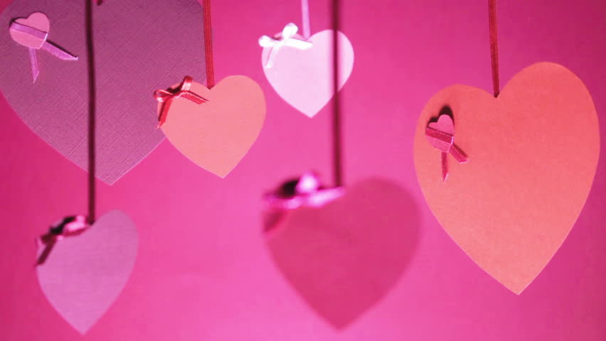 Valentines Day Bunch of Hearts Stock Footage Video (100% Royalty-free)  23846278 | Shutterstock
