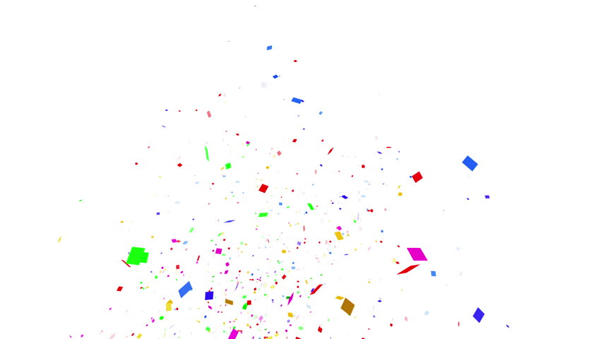 Colorful confetti particles. square. | Shutterstock HD Video #23886178