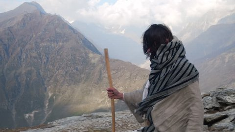 Pilgrim in the Himalayas. In search God
