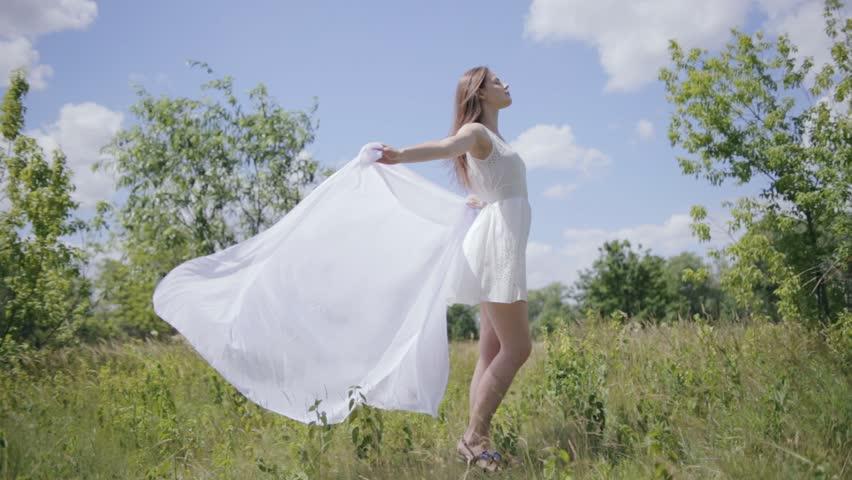White Cloth Dress