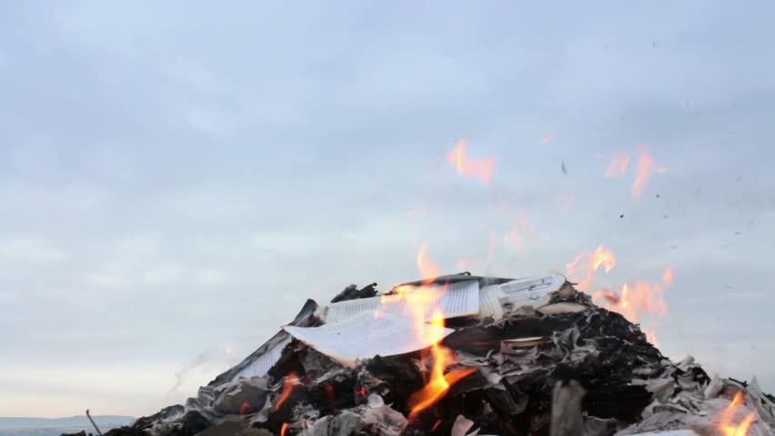 Bonfire of Burning Books