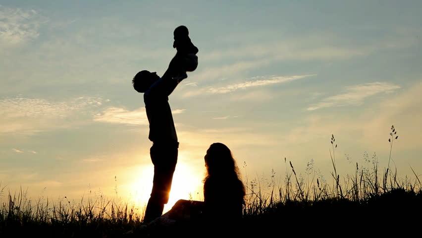 mom and baby girl silhouette wwwpixsharkcom images