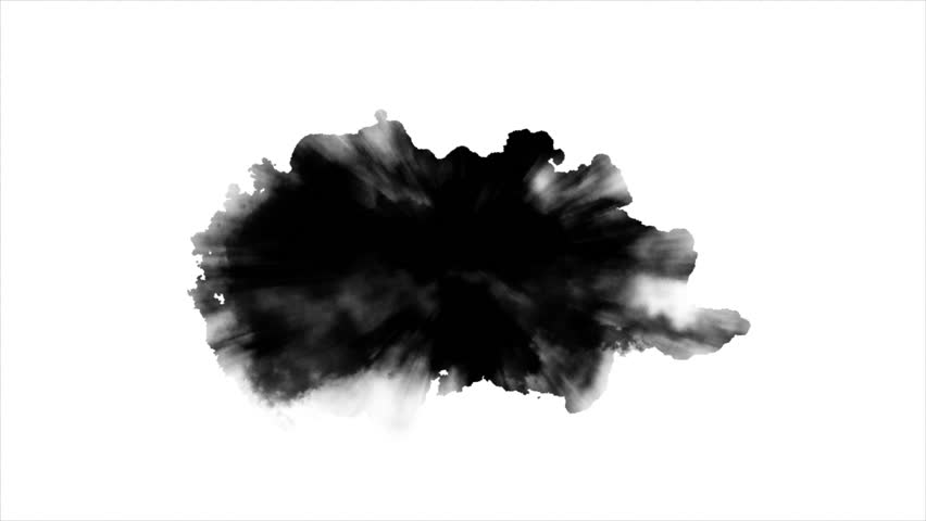 Dripping Ink on white background  | Shutterstock HD Video #24120088