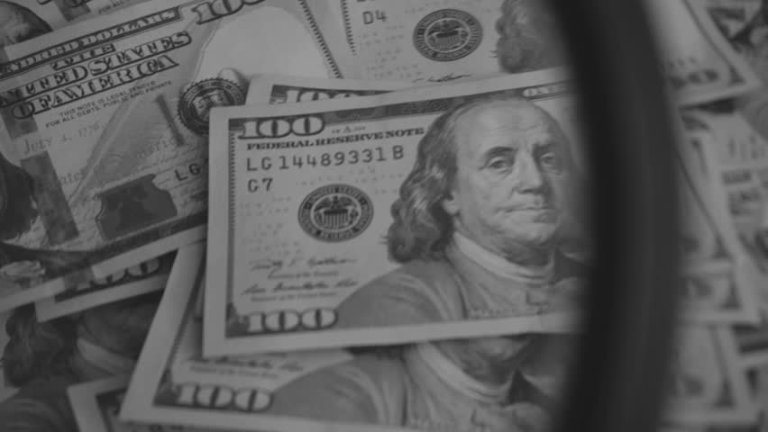Counting dollars Close-Up. Counting New Dollar Bills   Shutterstock HD Video #24141508