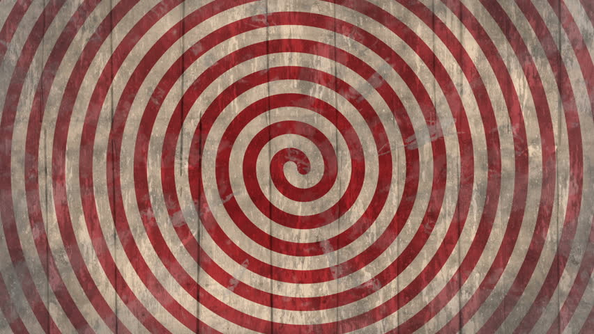 Circus/ freak show/ fair/ optical illusion vintage spiral wooden background. Seamless loop, with flashing vignette. Ideal as a backdrop for creepy, circus, fair or western themed project. 1080p,30fps  | Shutterstock HD Video #24164941