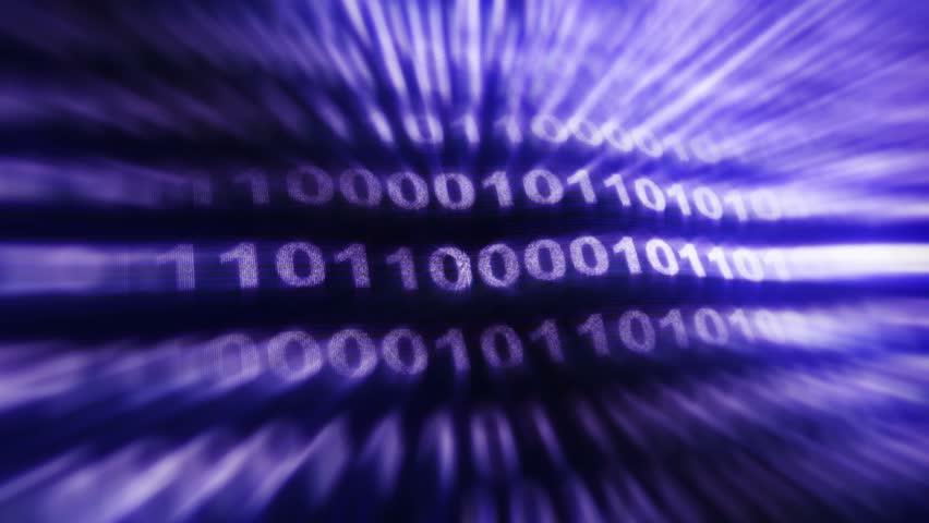 Binary Code Numbers Animation, Rendering, Background, Loop, 4k  | Shutterstock HD Video #24197128