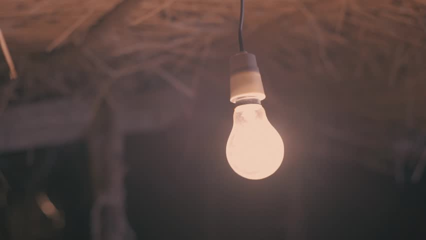 Bulb Flickering in Slow Motion Stock Footage Video (100% Royalty-free)  24201538 | Shutterstock
