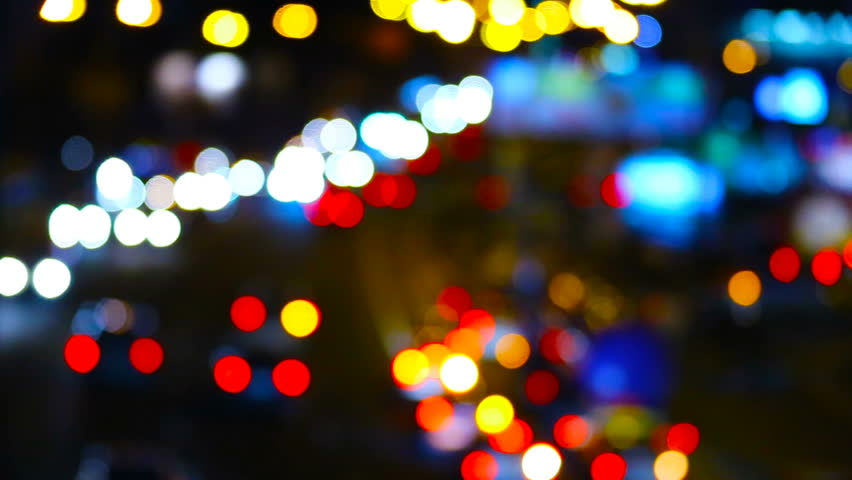 Night city traffic lights | Shutterstock HD Video #24252038