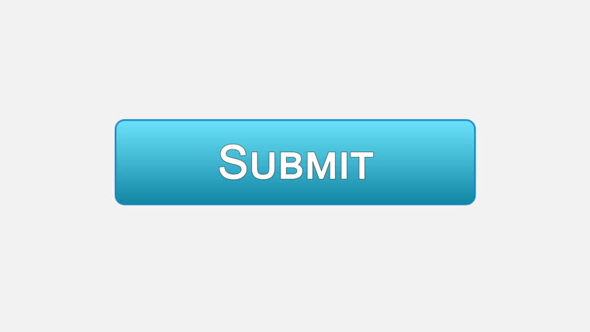 Submit web interface button clicked with mouse cursor, different color choice