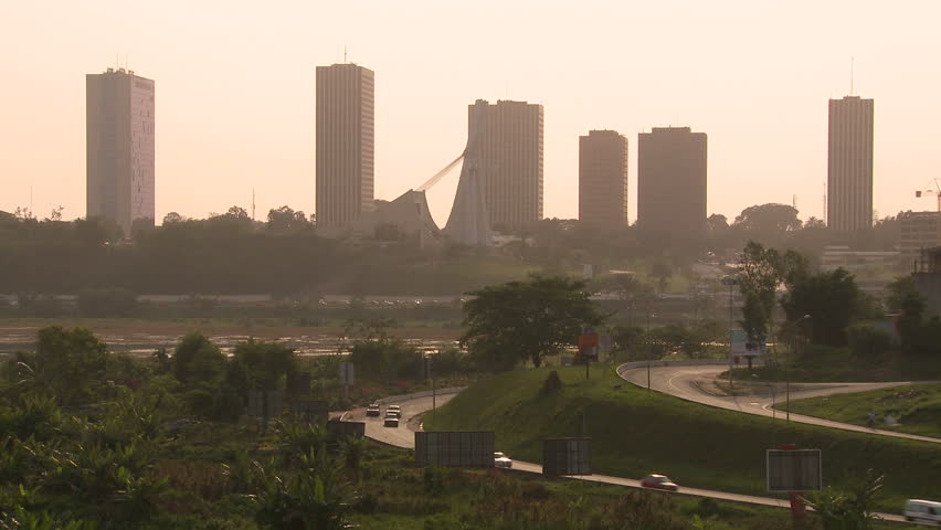 Abidjan is the economic and former official capital of Cote d'Ivoire.