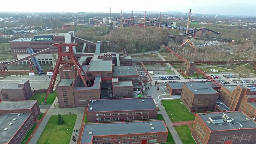 The Zollverein Coal Mine Industrial Complex in Essen, Germany
