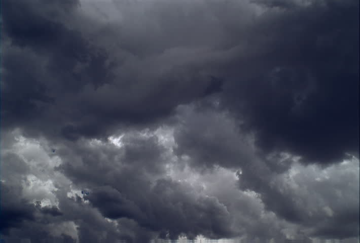 Time-lapse swirling clouds, both sunlit and shadowy #24481718