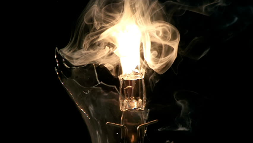 Halogen Light Bulb Filament Exploding Super Slow Motion | Shutterstock HD Video #24486578