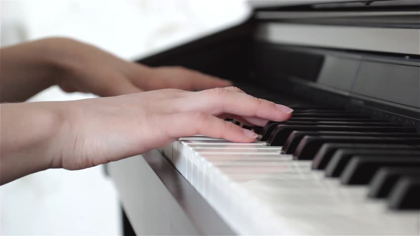 Play Piano  Close up of Stock Footage Video (100% Royalty-free) 24559328 |  Shutterstock