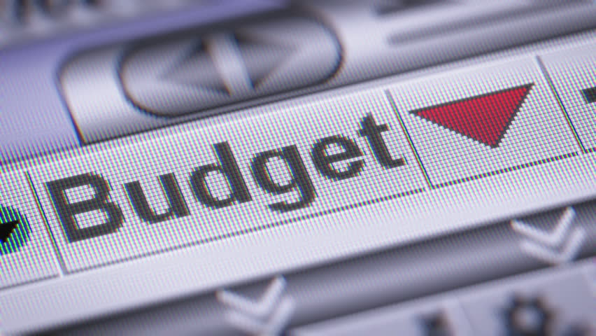 Index of Budget. Down. Looping. | Shutterstock HD Video #24677048