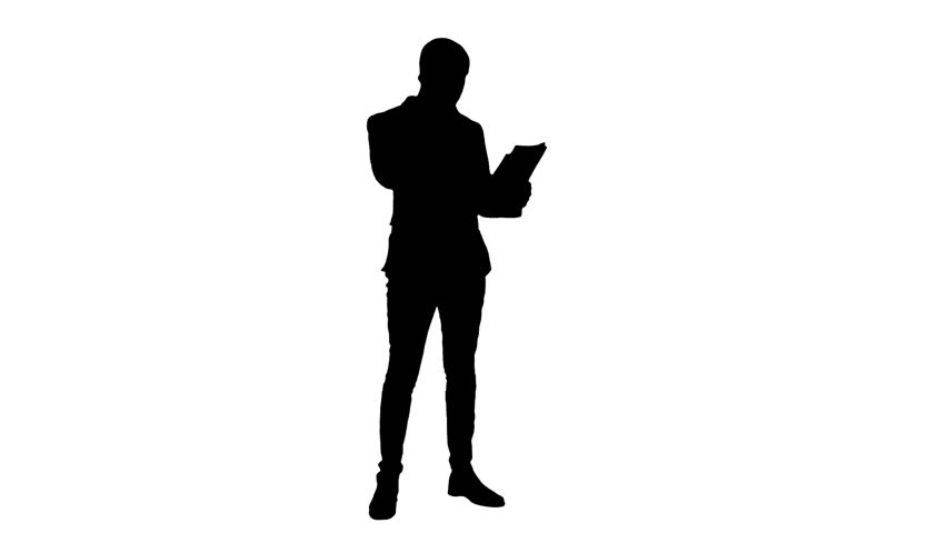 employee silhouette