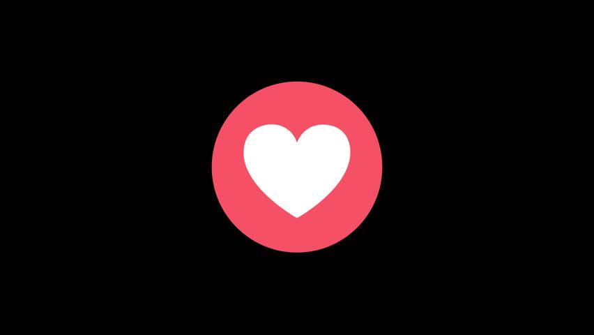 Facebook Reaction Love 4K | Shutterstock HD Video #25043126
